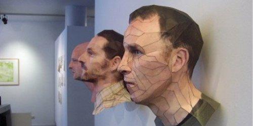 Esculturas de papel 3D